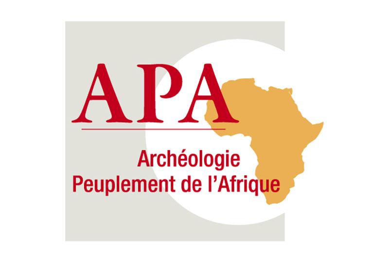 Logo APA- Archéologie des peuplements de l'Afrique