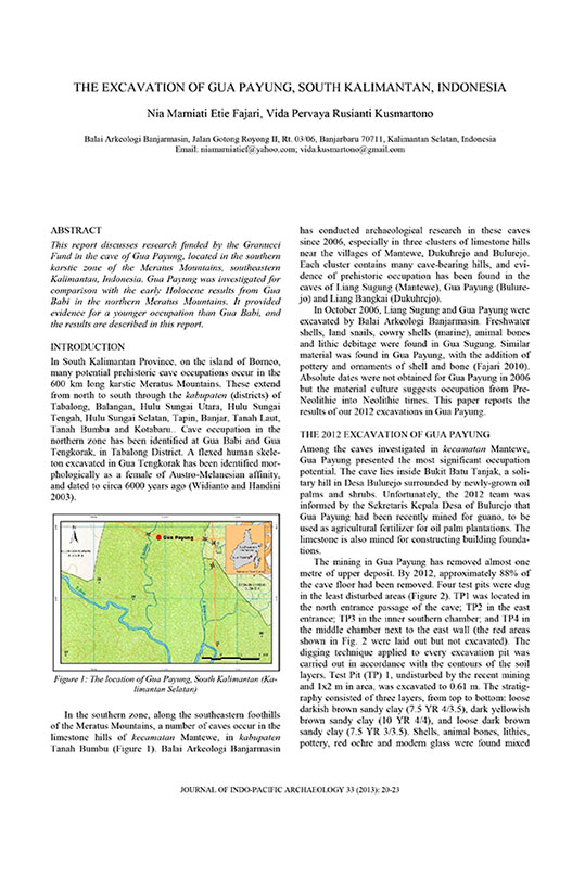 Publication numérique du JIPA