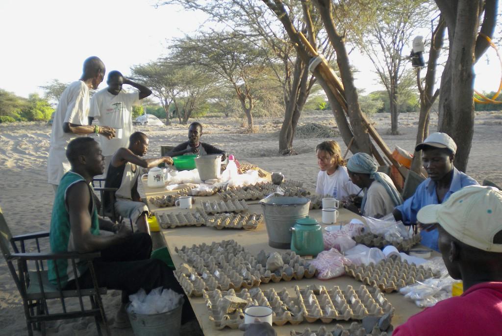 Sur le terrain au Kenya © MPK / WTAP